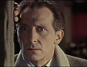 Screenshot of Peter Cushing from the trailer f...