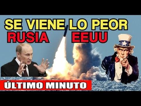 RUSIA y ESTADOS UNIDOS GERRA NUCLEAR ! ¡se viene lo peor !