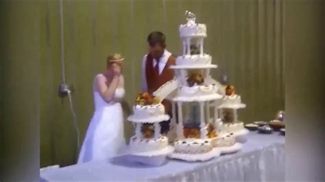Best Wedding Cake Fails Funny Fail Compilation   YouTube