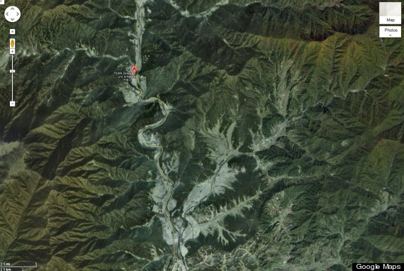 Google Maps North Korea Prison Camps Nuclear Complexes