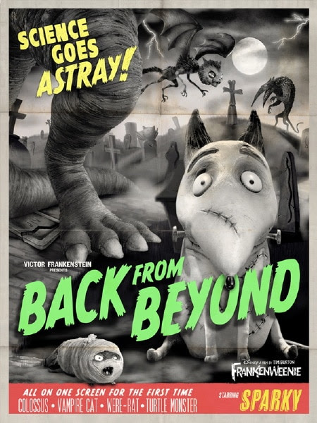 Click here for more Frankenweenie posters on DreadCentral.com
