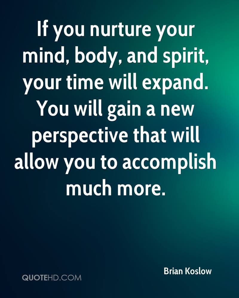 Spirit Mind Body Soul Quotes Quotes
