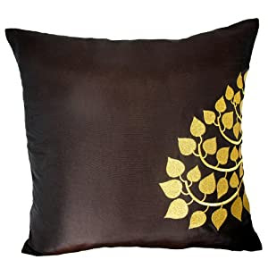 Amazon.com - Contemporary Thai Silk Throw Pillow Cover/Cushion