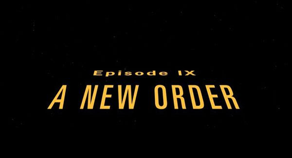 A fan-made opening crawl for STAR WARS: A NEW ORDER.