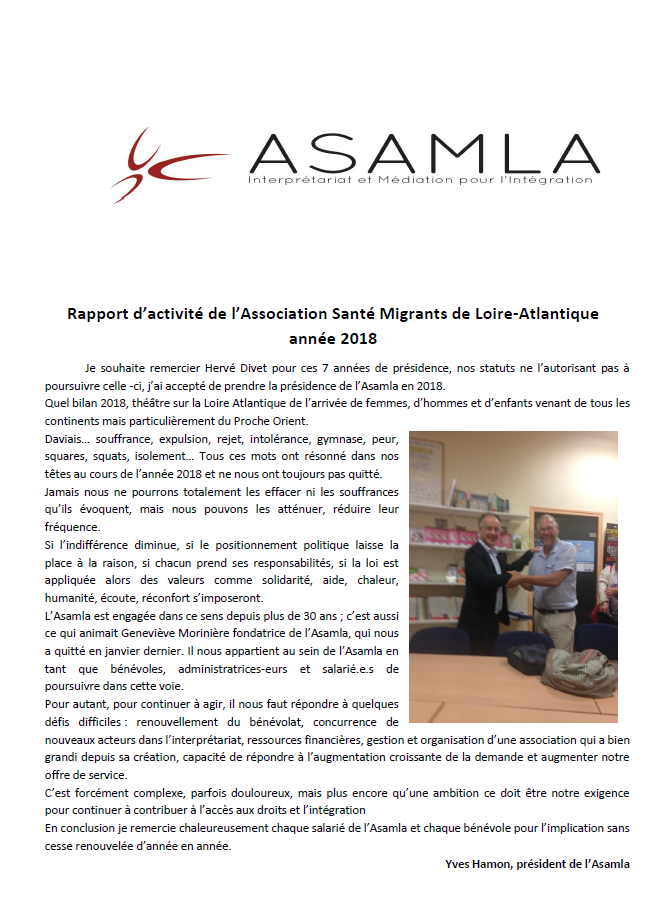 Exemple De Rapport D Activité D Une Association - Exemple ...
