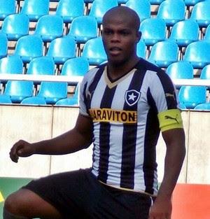 Vinicius Tanque, atacante do sub-20 do Botafogo (Foto: Divulgação)