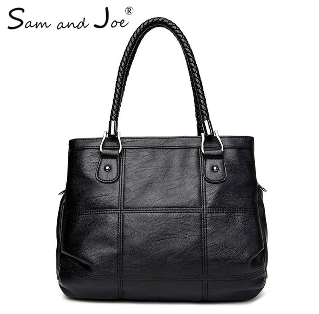 shoulder bags for school  Best Price 2019 New Fashion Ladies Hand Bag  Women s Genuine Leather Handbag Leather Casual Tote Bag Bolsas Femininas  Female ... 941279a8bfce1
