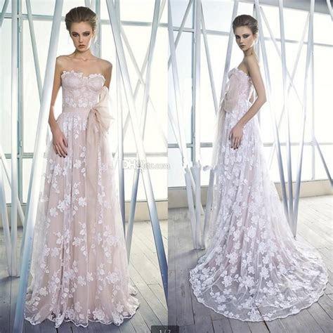 Color 2015 A line Wedding Dresses With Sash Sweetheart