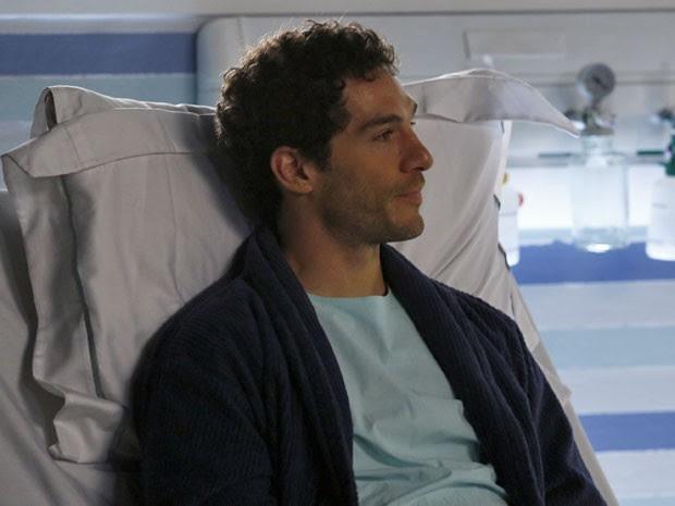 Felipe corre risco de vida e precisa de transplante de fígado (Foto: Raphael Dias/Gshow)