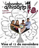 Detall del cartell del Laboratori Antiracista 2011
