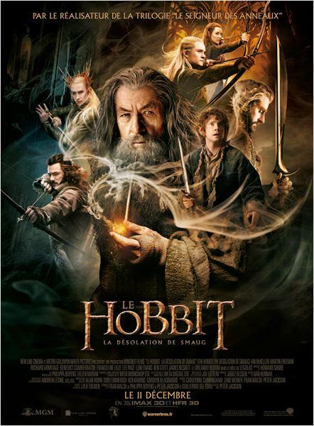 Le Hobbit : la Désolation de Smaug : Affiche