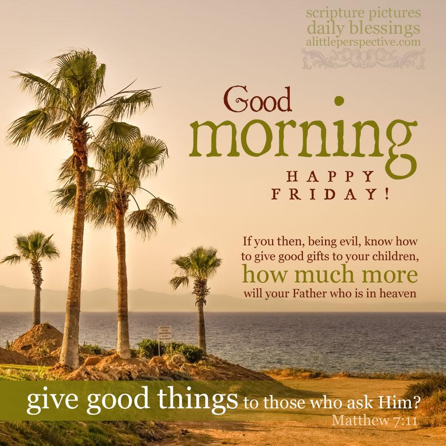 Good Morning Friday 01