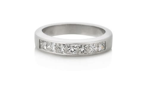 Channel Set Diamond Wedding Band by Keezing Kreations Boston