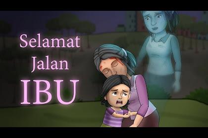 Foto Kartun Ibu Dan Anak Muslimah