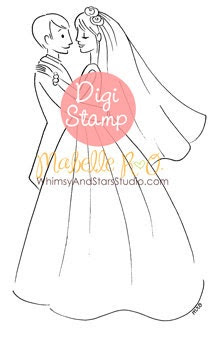 Instant Download Digi Stamp: Together Forever