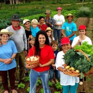 70% da produção alimentícia do país é realizada pela agricultura de base familiar (Foto: MDA)