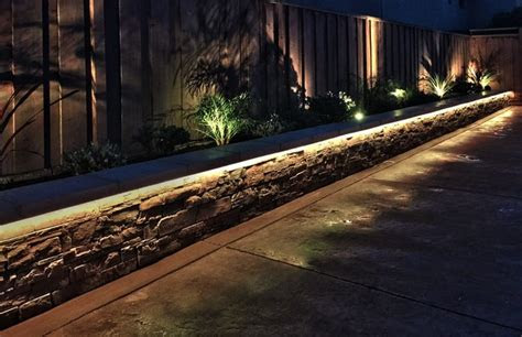 rgbw led strip landscaping lights contemporary garden