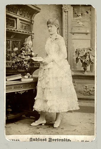 Cabinet Card, slightly trimmed