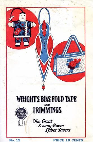 Bias tape booklet