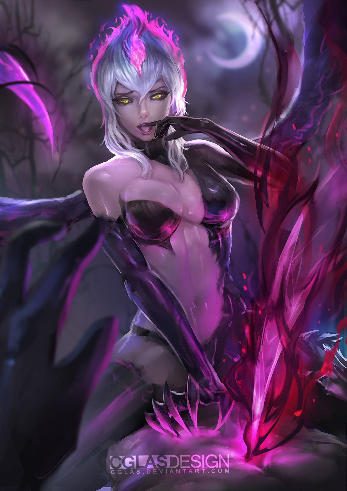 Sexy Evelynn Wallpapers Fan Arts League Of Legends Lol Stats