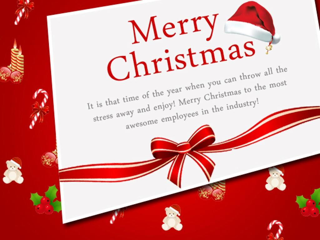 Imágenes de Christmas Greetings Messages To Employees