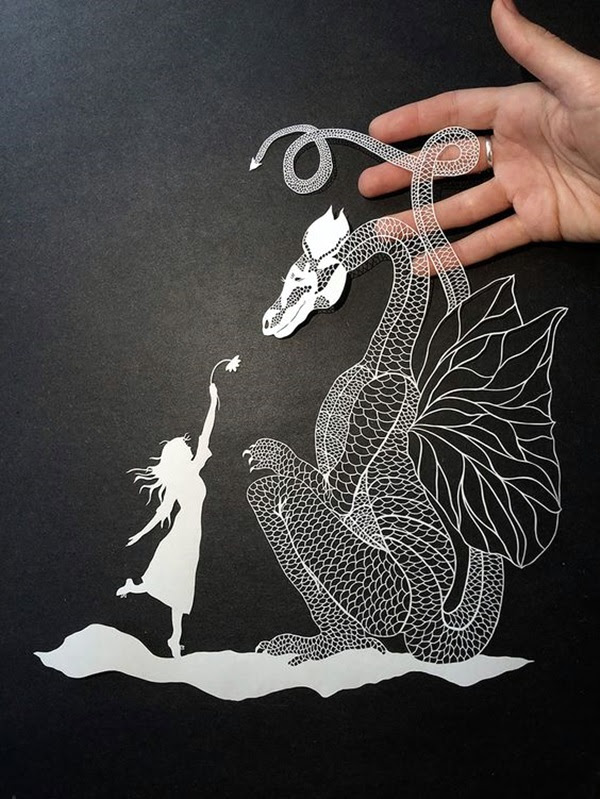Extremely Creative Examples of Kirigami Art A Hobby to Addapt (17)