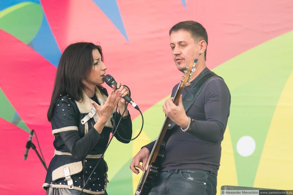 Группа Мураками выступает на фестиваля FIFA Fan Fest в Саранске