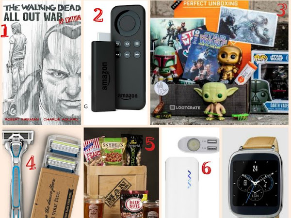 Holiday Wishlisting:  Guy Gifts