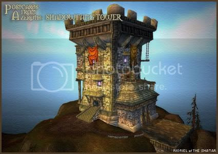 Postcards of Azeroth: Shadowfang Tower, by Rioriel Ail'thera