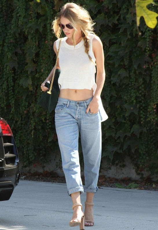 Citizens of Humanity Dylan Boyfriend Jean in Seychelles - as seen on Rosie Huntington-Whiteley