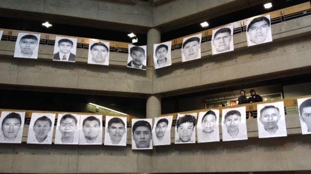 Entre otros hechos, Salgado ha denunciado la desaparición de los estudiantes en Ayotzinapa.