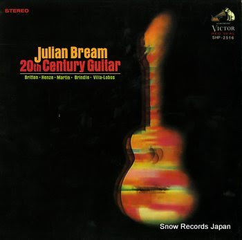 BREAM, JULIAN 20th century guitar
