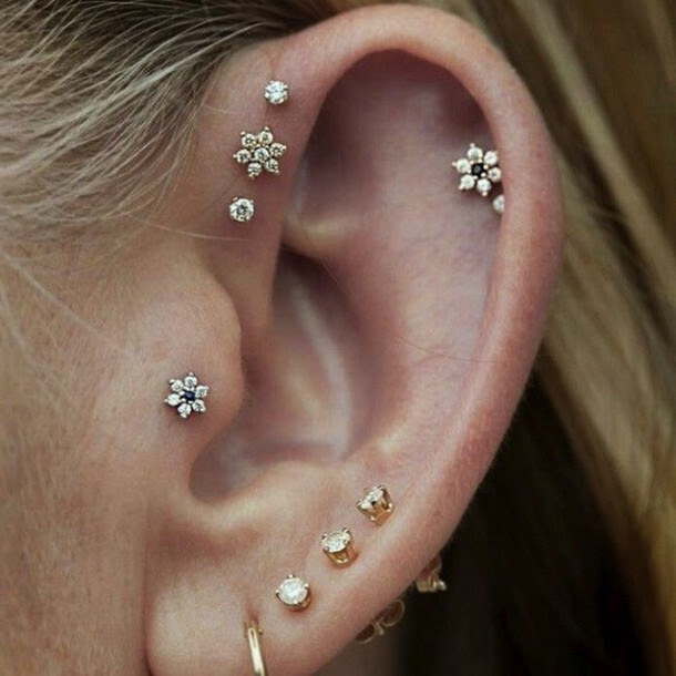 Jewels Tumblr Instagram Earrings Stud Earrings This Cartilage