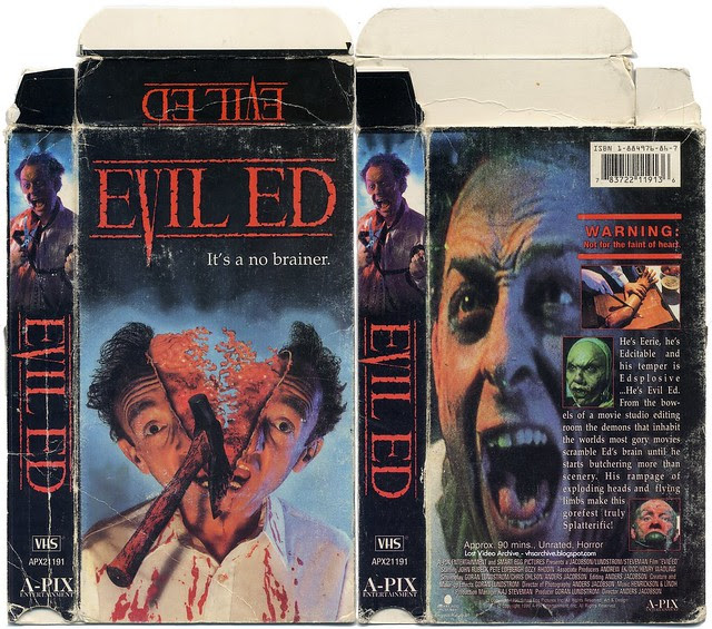 Evil Ed (VHS Box Art)
