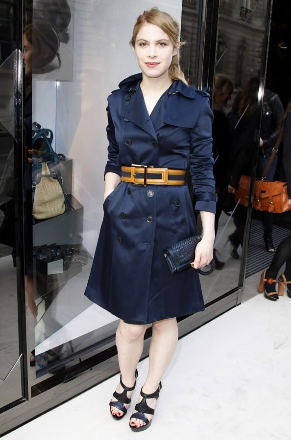 3 P - Hande Kodja at the Burberry Eyewear event in Paris0001