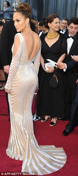 Dazzling: filmagem impressionante Lopez vem depois que ela fez um enorme impacto no Oscar último fim de semana