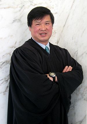 English: , judge on the United States District...