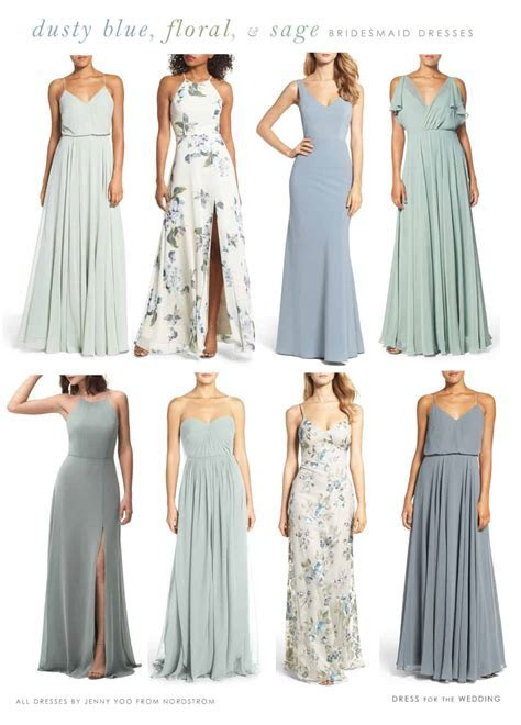 Light Blue, Floral, and Sage Green Mix and Match