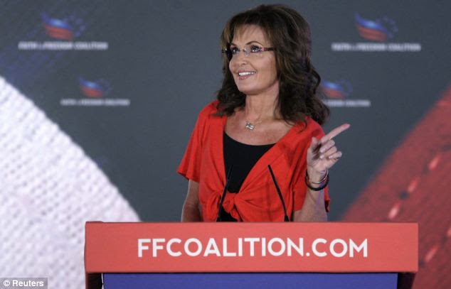 Palin, who is rejoining Fox News Channel as an analyst on Monday, described Washington as 'one hot mess'