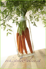 Veg - Carrots: Bouquet in a Glass Jar