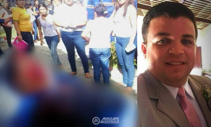 Resultado de imagem para Professor é assassinado a tiros por aluno dentro da escola na Região Metropolitana de Fortaleza