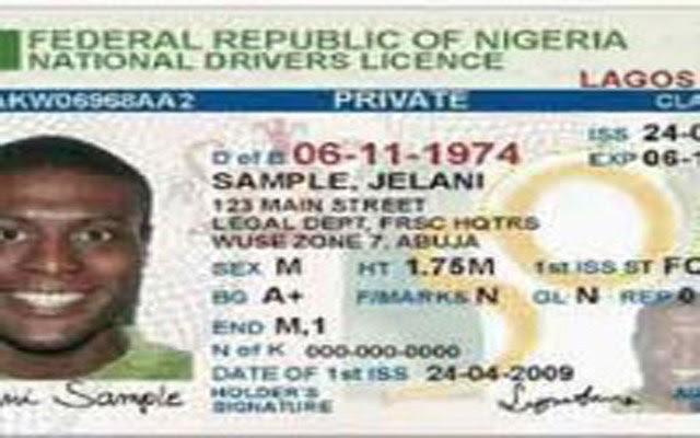 nigeria drivers licence fee