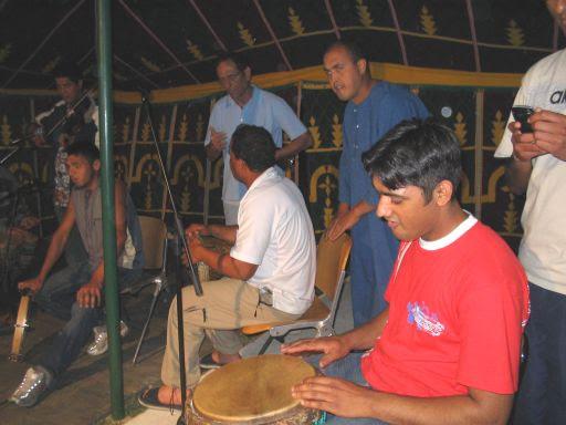 Musica sotto la tenda