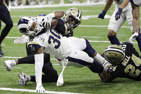 6d9fed91 Rams' Todd Gurley disappeared in NFC championship game but is 'healthy,  feeling good'