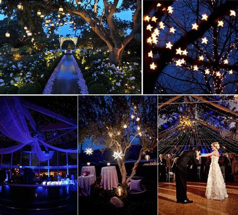 Starry night theme wedding inspirations ? lianggeyuan123