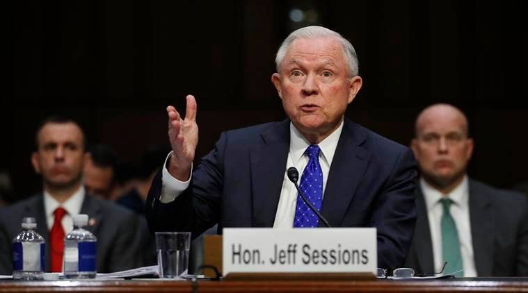 Jeff Sessions on James comey firing, jeff sessions and Hillary clinton emails, hillary clinton emails news, jeff sessions news, latest news, World news, international news, us news