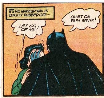 Batman spank