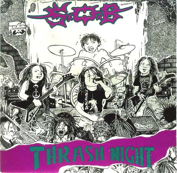 S.O.B. - Thrash Night Album Cover
