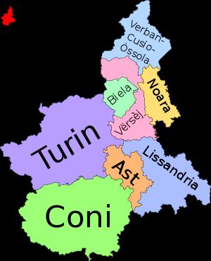 (Piedmontese version) Category:Maps of Piedmon...