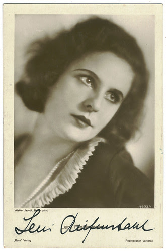 RIEFENSTAHL, Leni_Ross. 4803-1. Photo Jacobi. Signed